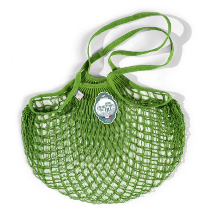 Filt Tote Net Bag - Apple Green - Clémentine Boutique