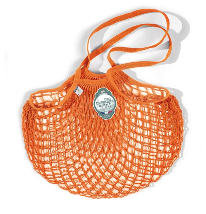 Filt Tote Net Bag - Carrot Orange - Clémentine Boutique