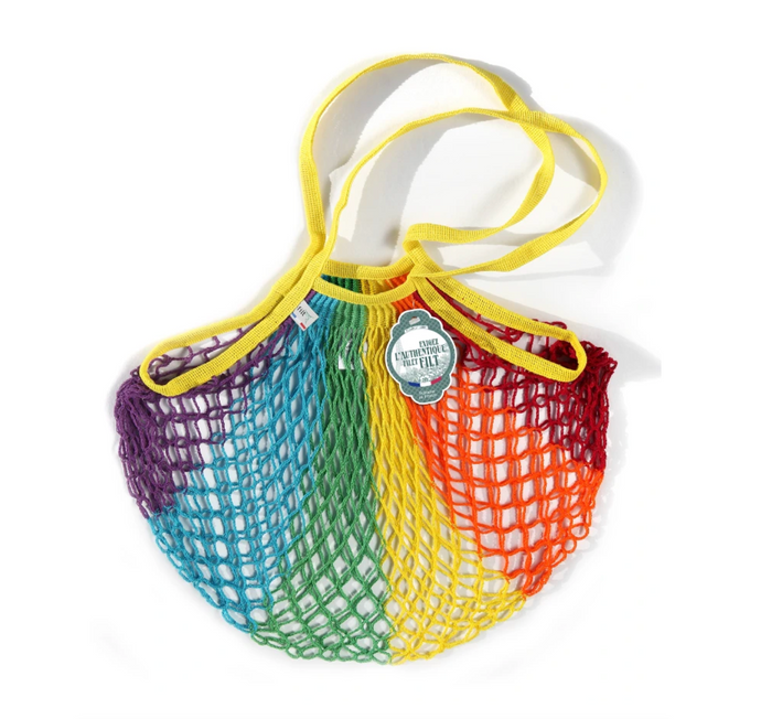 Filt Tote Net Bag - Arc-en-ciel