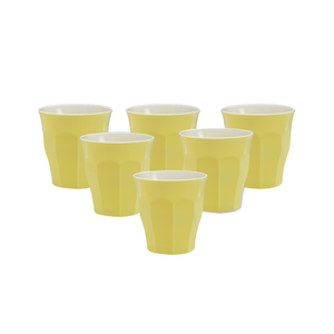 Duralex Picardie Soft Touch Pastel Yellow Tumbler 22cl