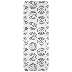 T1F1 Logo Yoga Mat (Black/White)