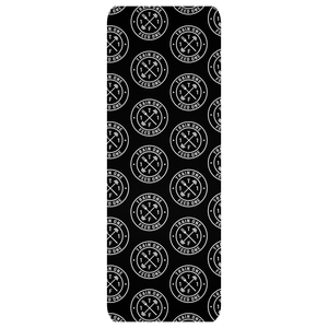 T1F1 Logo Yoga Mat (White/Black)