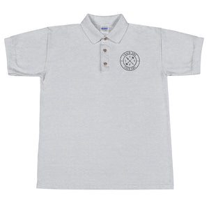 T1F1 Logo Polo (Black Thread)
