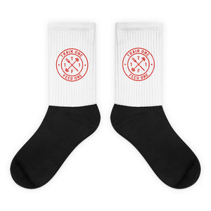 T1F1 Logo Socks (Red)