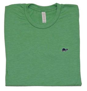 Short-Sleeve Turtle Tee (Light Green)