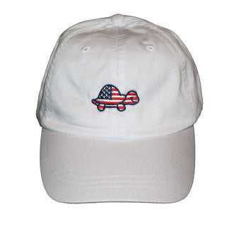 Turtle USA Hat (White)