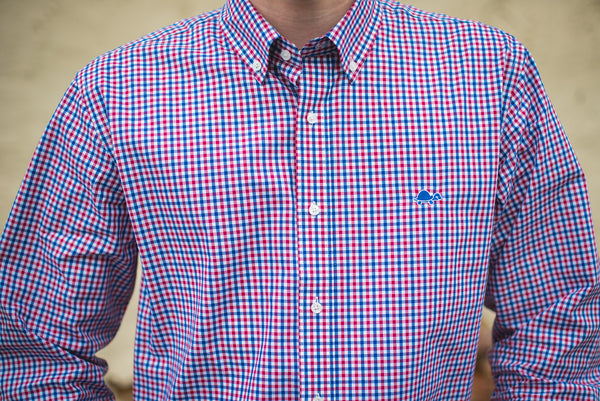 Madison Shirt Collection - 'Murica Gingham