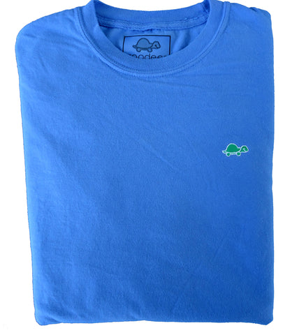 Long Sleeve Turtle Shirt (Blue)