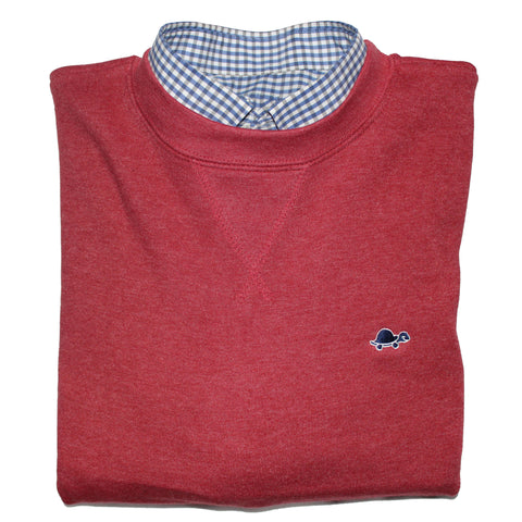 Mystic Crew Sweater (Crimson Red)