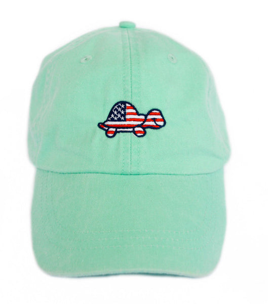 Turtle USA Hat (Light Green)