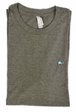 Short-Sleeve Turtle Tee (Gray)