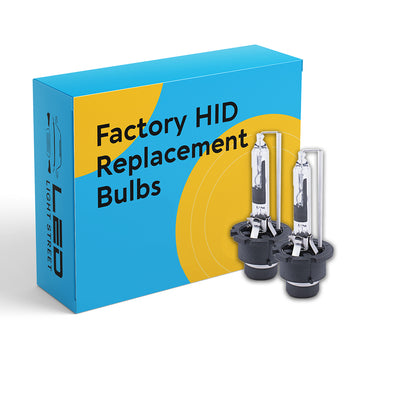 D2S HID Factory Replacement Bulbs
