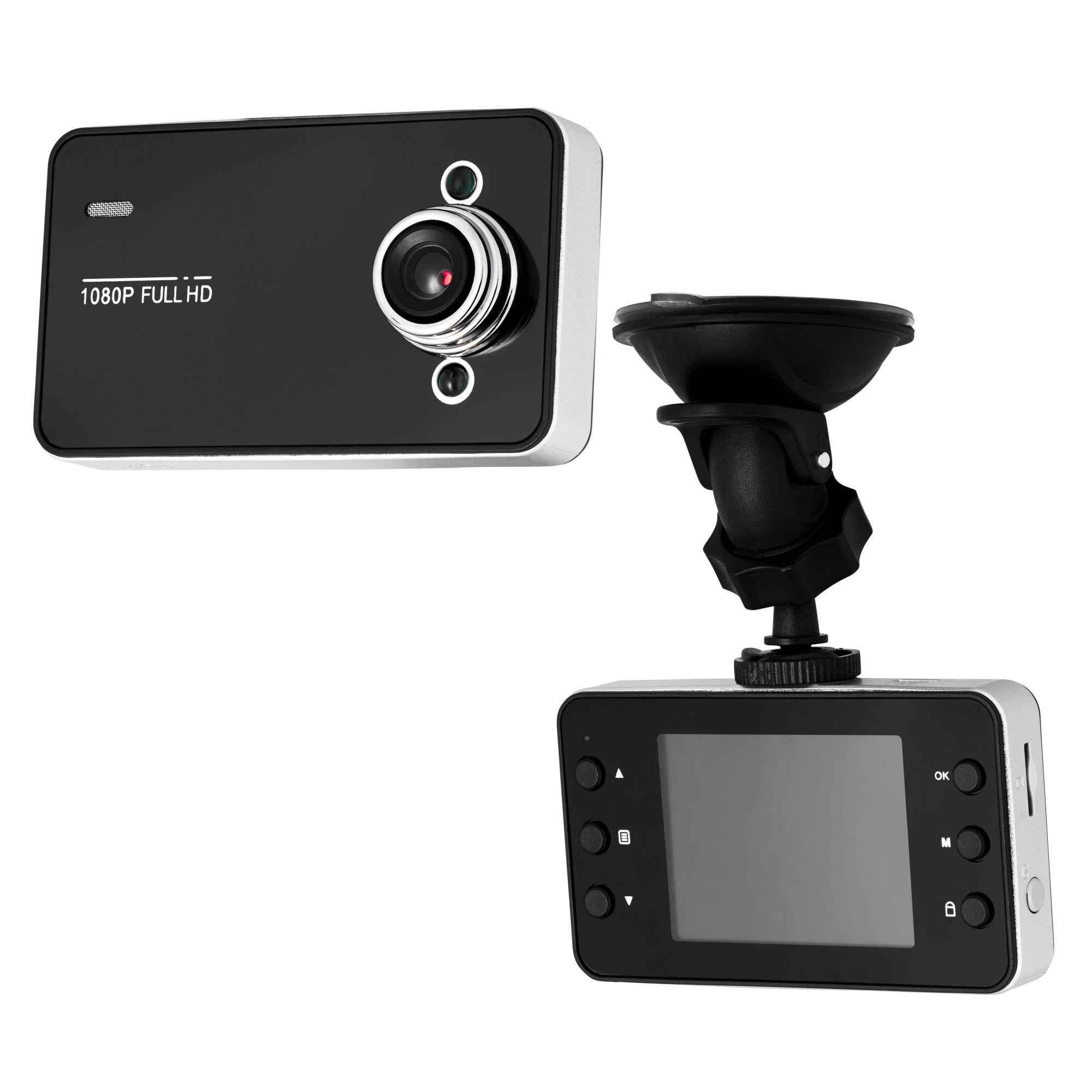 "Touchscreen Dash Cam 2.4"" Screen  1080P HD Super wide angle 140° w 32gb Sd card"