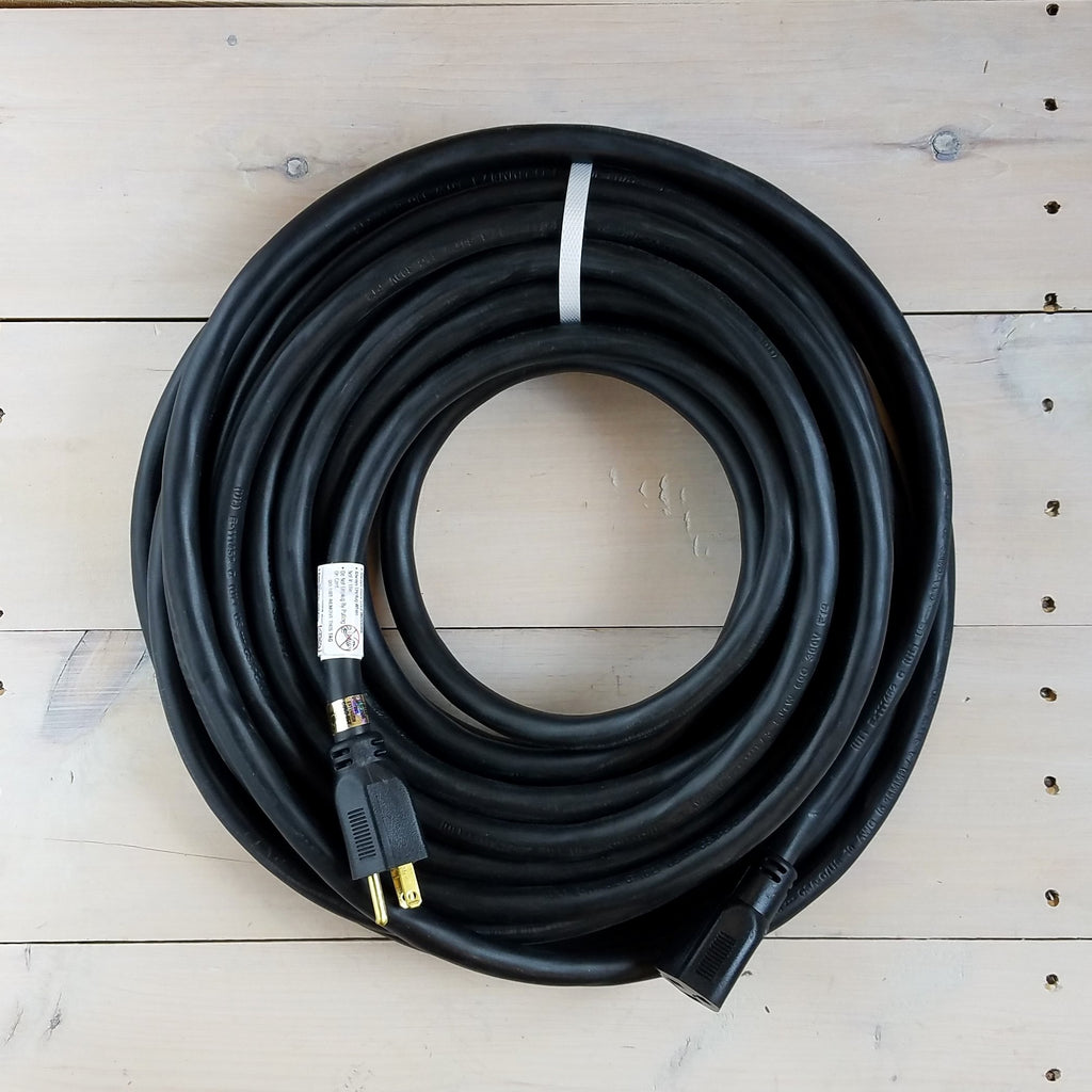 50' 10/3 Black Extension Cord