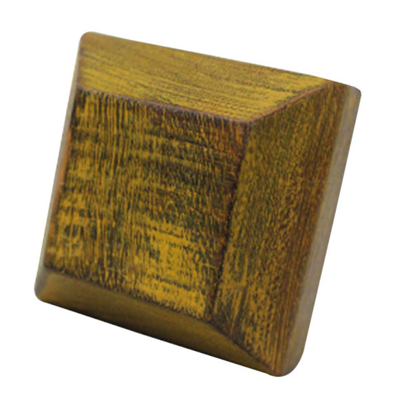 Square Wood Knob - Shackteau Interiors