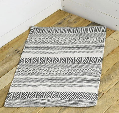 Hand Woven Steel Gray Rug - Shackteau Interiors