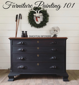 Furniture Painting 101 January 12th - Shackteau Interiors