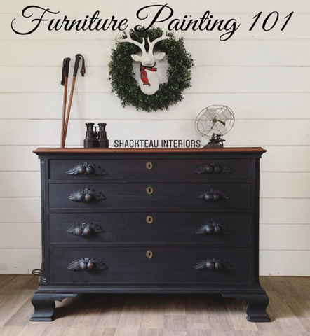 Furniture Painting 101 January 12th