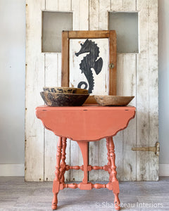 Powder House Pink Drop Leaf Table - Shackteau Interiors
