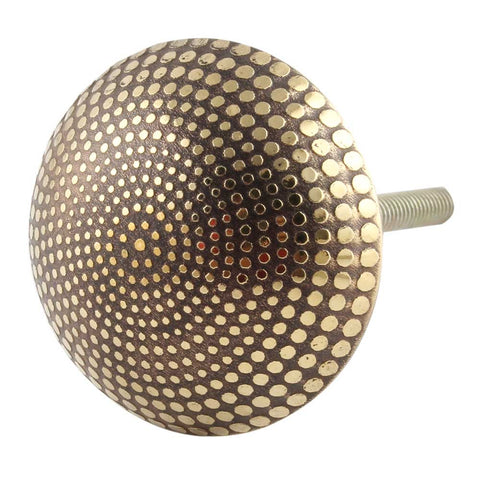 Brass Dotted Knob - Shackteau Interiors
