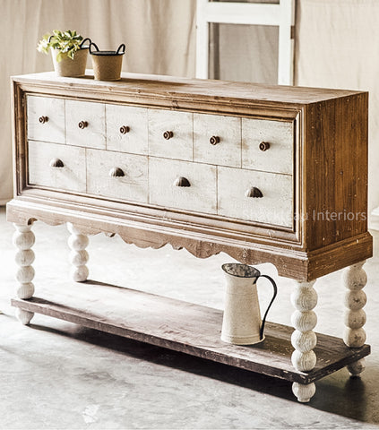 Coastal Farmhouse Sideboard - Shackteau Interiors