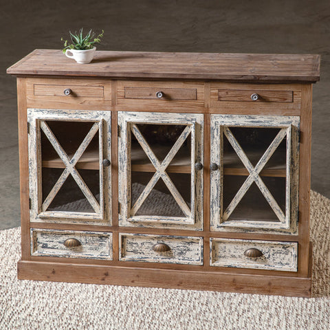 Farmhouse Buffet - Shackteau Interiors