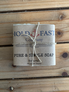 Hold Fast Co. Pure & Simple Soap - Shackteau Interiors