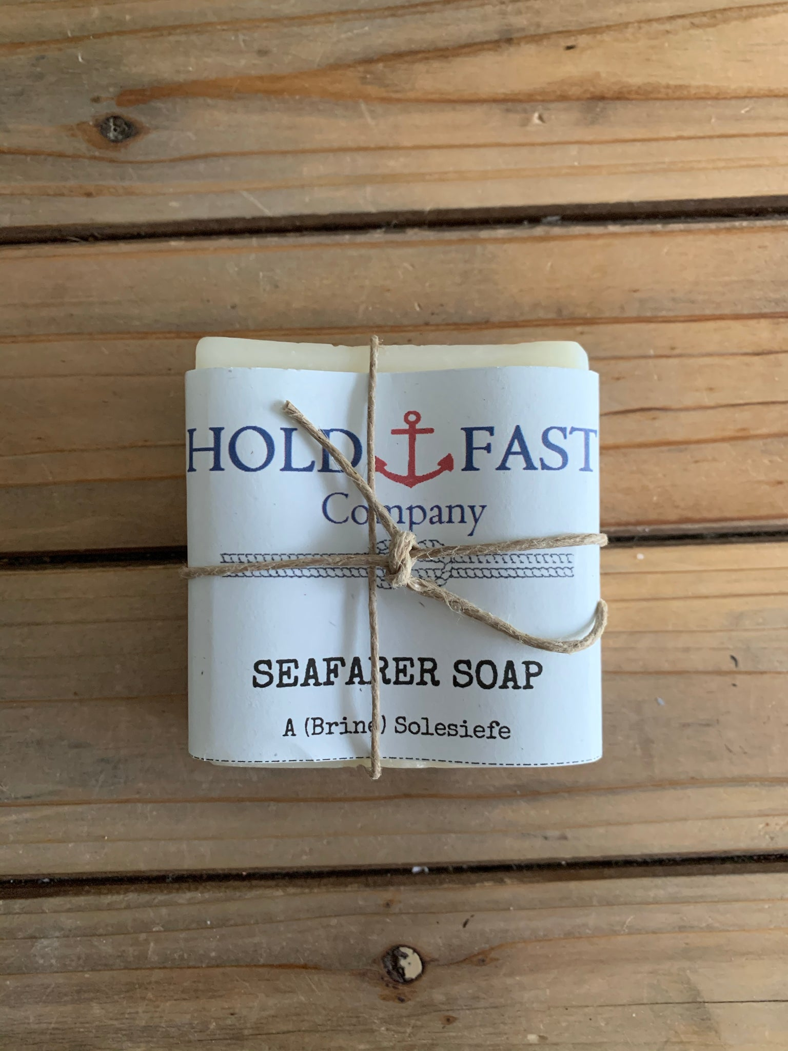 Hold Fast Co. Galley Seafarer Soap - Shackteau Interiors