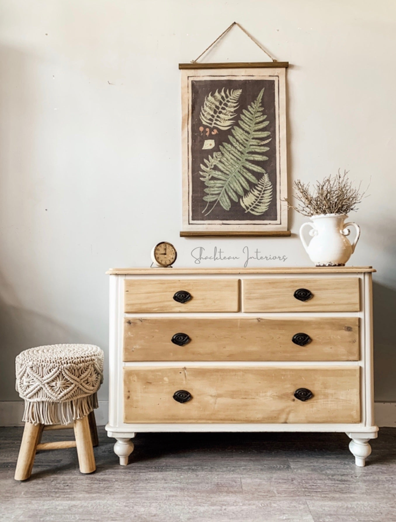 Antique Pine Dresser