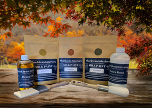 Fall Milk Paint and Zibra Brush Bundle