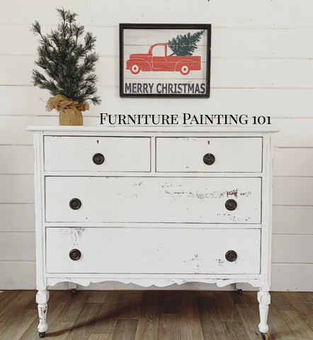 Furniture Painting 101 December 6th