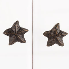 Antique Starfish Knob