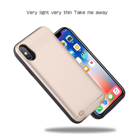Hot 10000mAh Battery Charger Case For iphone 6 6s 7 8 Plus Power Bank Charging Case For iphone X XS Max XR 6 s Battery Case