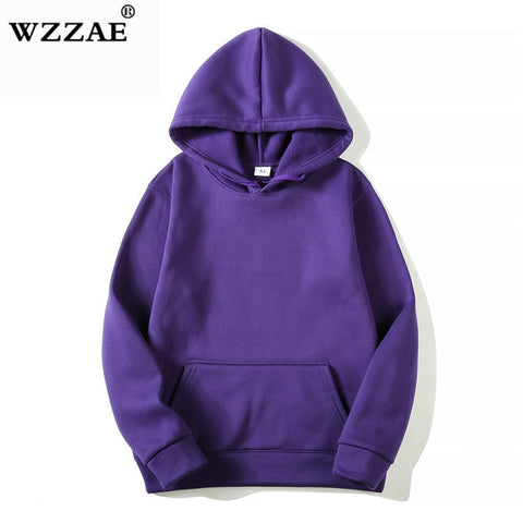2018 New Casual pink black gray blue HOODIE Hip Hop Street wear Sweatshirts Skateboard Men/Woman Pullover Hoodies Male Hoodie