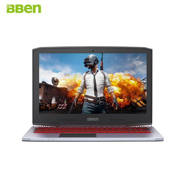 BBen G16 15.6'' Laptop Intel i7 7700HQ GTX1060 8G/16G RAM 128G/256G SSD 1T HDD Aviation Metal RGB Backlit Keyboard IPS Pro Win10