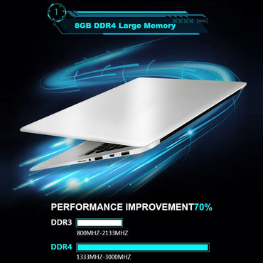 15.6 inch Gaming Laptops With 8G RAM DDR4 1TB 512G 256G 128G SSD Laptop Ultrabook intel j3455 Quad Core Win10 Notebook Computer