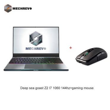 MECHREVO Z2 I7 1060 144 DDR4 2666Mzh 15.6 Intel 8th Laptop Gaming Laptop Windows 10 Notebook i7-8750h 1TB mechanical keyboard