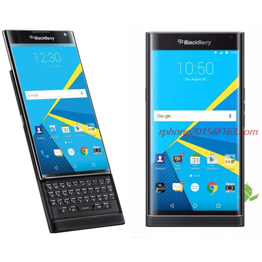 Unlocked Original BlackBerry Priv 5.4' Cellphone Android OS 3GB RAM 32GB ROM 18MP Refurbished Cellphone