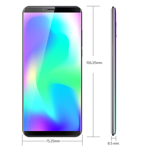 "Cubot X19 Helio P23 Octa-Core Smartphone Dual Camera 16MP 5.93"" 2160*1080 FHD+ Face ID 4000mAh Big Battery 4GB+64GB Free Gifts"