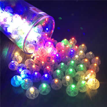10Pcs/Lot Switch balloon LED flash luminous Lamps Tumbler light Bar lantern Christmas wedding party decorations birthday decor