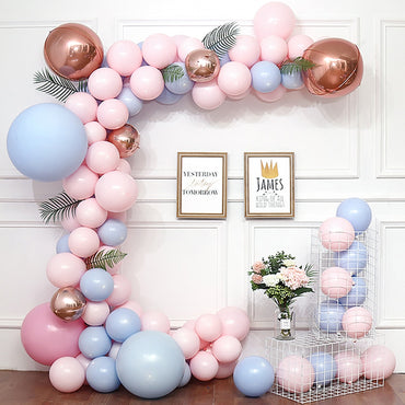 5M Balloons Accessories Balloon Chain PVC Rubber Wedding Birthday Party Backdrop Decor Balloon Chain Arch Clips Decor Supplies