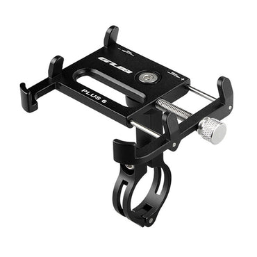 GUB Bike Accessories Plus 6 Aluminum Bicycle Phone Holder For 3.5-6.2 inch Smartphone Adjustable Bike Phone Stand Mount Bracket