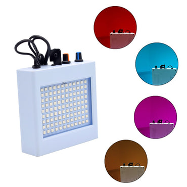108 LED Mixed Flashing Stage Lights Remote Sound Activated Disco Lights for Festival Parties Lights Wedding KTV Strobe Lights