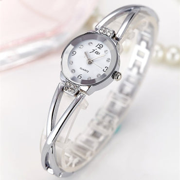 New Fashion 2019 Luxury Rhinestone Watches Women Stainless Steel Quartz Bracelet Watch Ladies Dress Watches Gold Clock relogios