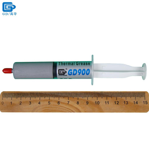 GD900 Thermal Conductive Grease Paste Silicone Plaster Heat Sink Compound High Performance Gray SSY1 SY1 SY3 SY7 SY15 SY30