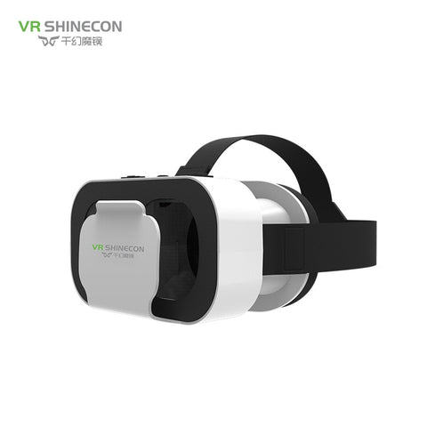 VR SHINECON BOX 5 Mini VR Glasses 3D Glasses Virtual Reality Glasses VR Headset For Google cardboard Smartp