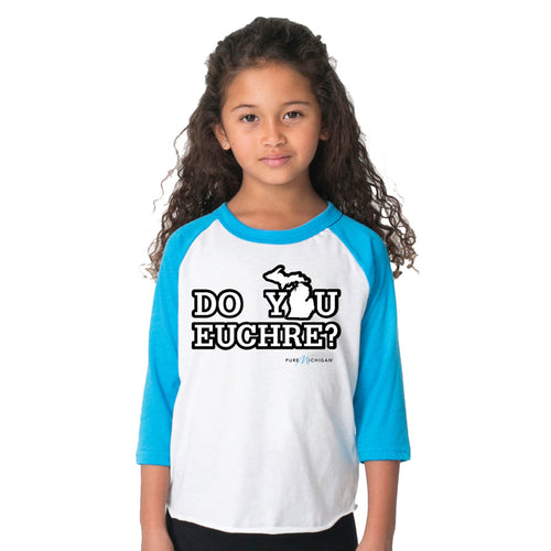 Toddler/Youth Do You Euchre 3/4 Sleeve T-Shirt