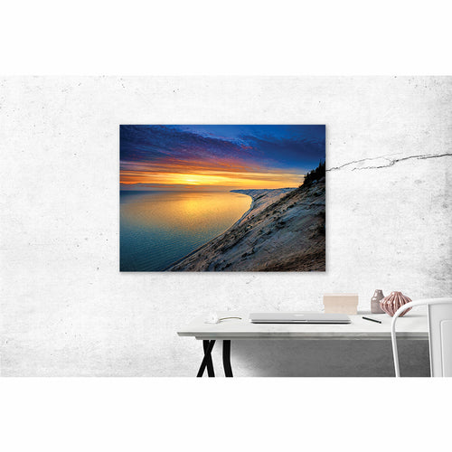 Sunset Over the Dunes - Pure Michigan Canvas