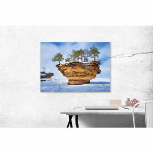Turnip Rock - Pure Michigan Canvas