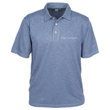 Load image into Gallery viewer, Men's Blend Polo w/Pure Michigan Logo